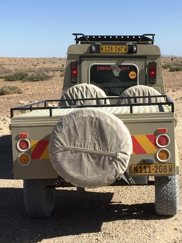 My Visit to Namibia by Clyde Peeling