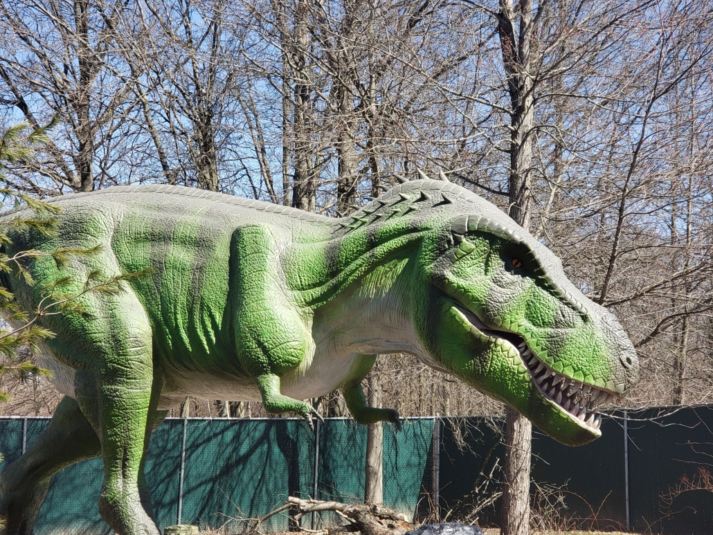 Tyrannosaurus rex - Dinosaurs Come to Life at Clyde Peeling's Reptiland