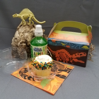 Birthday party favor box | Clyde Peeling's Reptiland