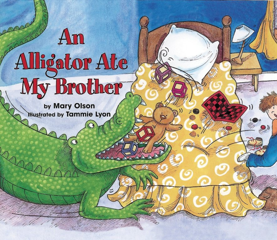 An Alligator Ate My Brother will be read at Reading with Reptiles on February 9, 2019! | Clyde Peeling's Reptiland
