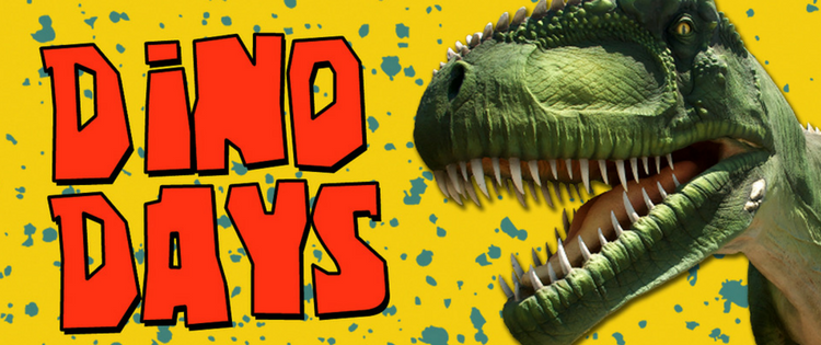 Join us for the third annual Dino Days at Reptiland on July 22 & 23, 2017!