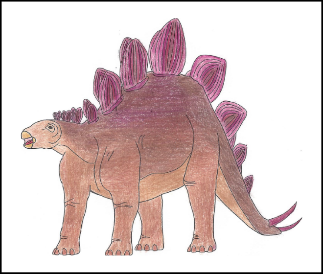 Ian Lebold's design for the 2019 Dino Coloring Contest | 2019 Coloring Contest Results | Clyde Peeling's Reptiland