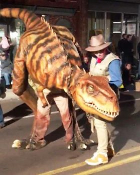 Jasper the Raptor is coming to Dino Days at Clyde Peeling's Reptiland! July 21 & 22, 2018