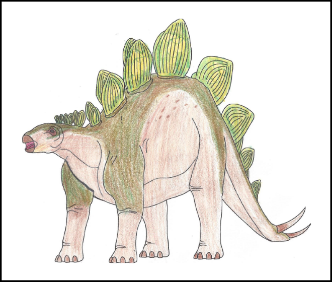 Landon Stetts - 2019 Dino Coloring Contest Honorable Mention | 2019 Coloring Contest Results | Clyde Peeling's Reptiland