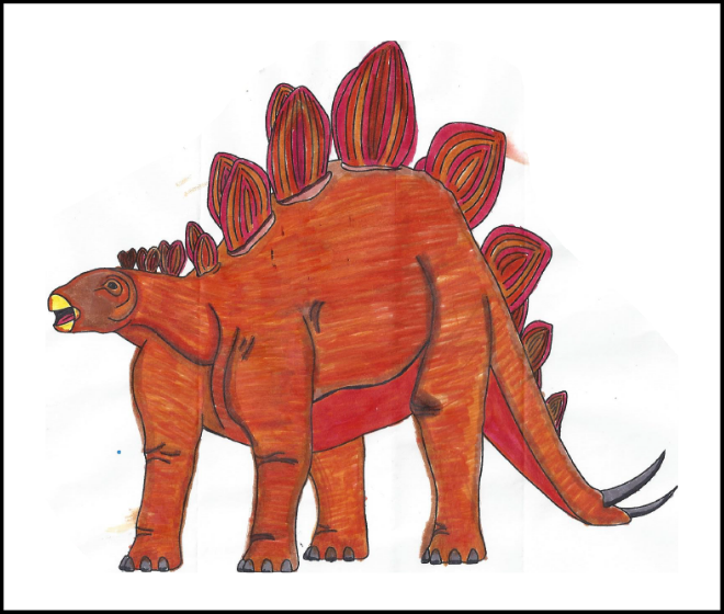 Mariella Potter - 2019 Dino Coloring Contest Honorable Mention | 2019 Coloring Contest Results | Clyde Peeling's Reptiland