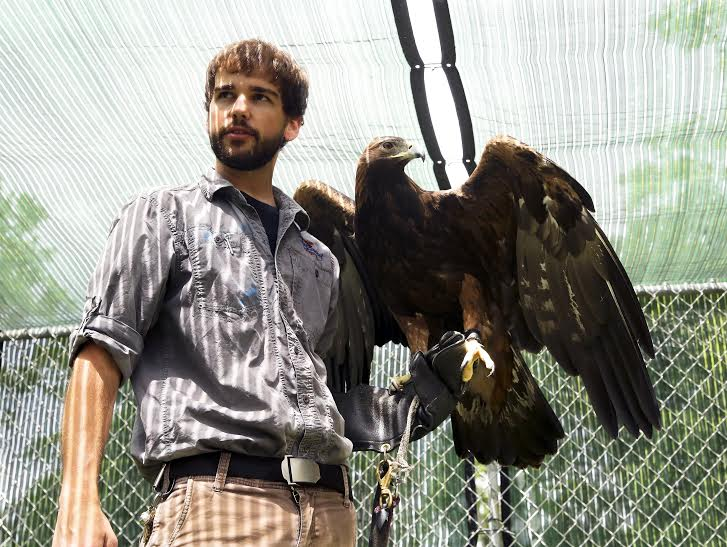 Patrick Miller, Master Falconer | Birds of Prey Day at Clyde Peeling's Reptiland