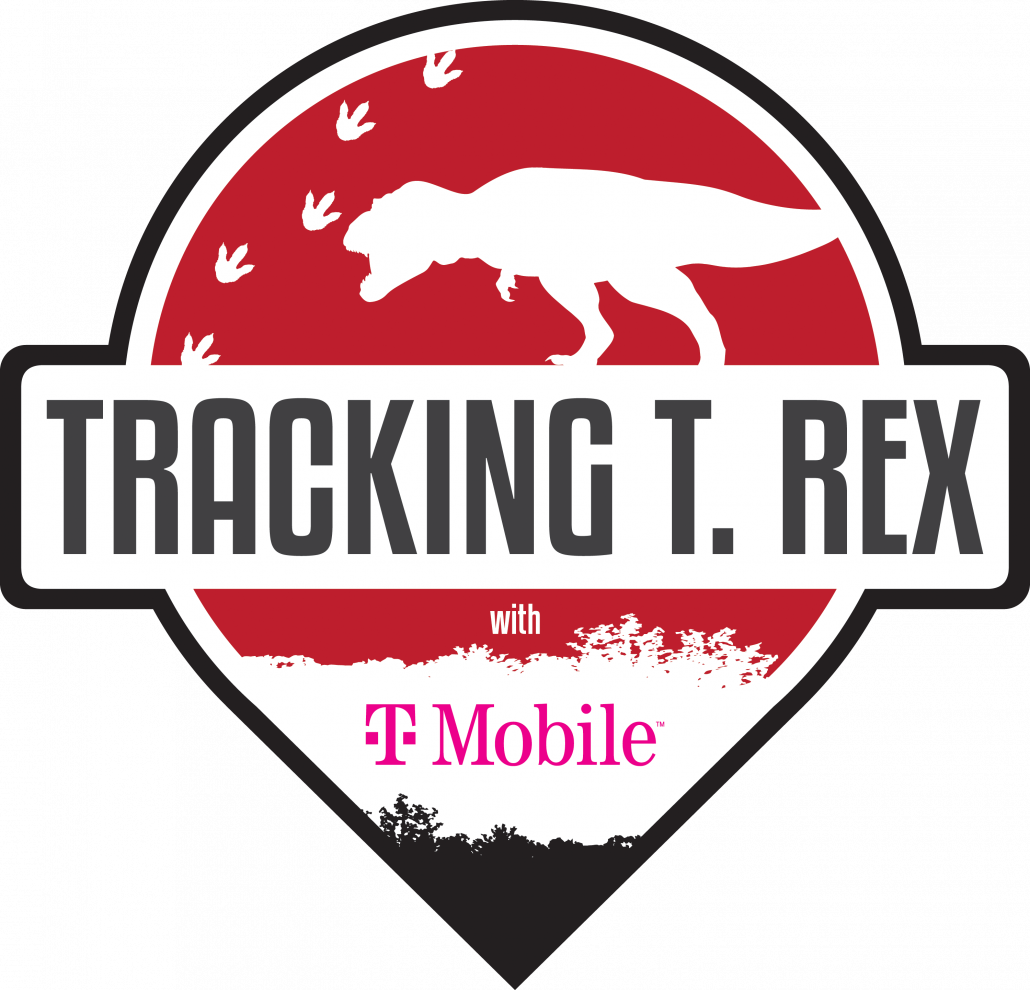 Tracking T. rex with T-Mobile logo