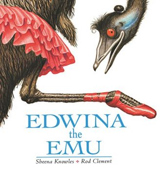 Come to Reading with Reptiles on March 14, 2018 to hear Edwina the Emu by Sheena Knowles & Rod Clement | Clyde Peeling's Reptiland
