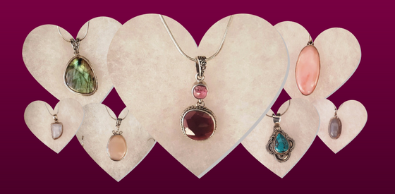 Show her you love is set in stone this Valentine's Day with beautiful gemstone jewelry from the Natural Selections Gift Shop at Clyde Peeling's Reptiland!